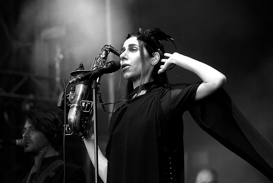 <H2>PJ Harvey</H2><H5>Saint-Malo, La Route du Rock